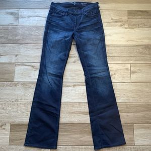 7 For All Mankind Bootcut High Waist Jeans TALL